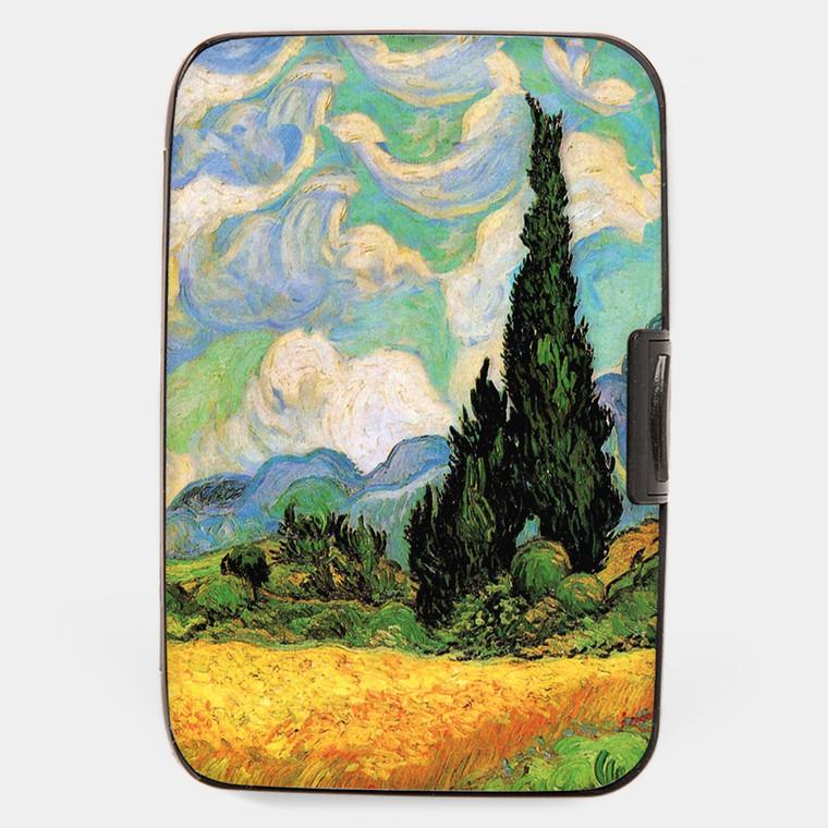 Van Gogh Cypress Armored Wallet