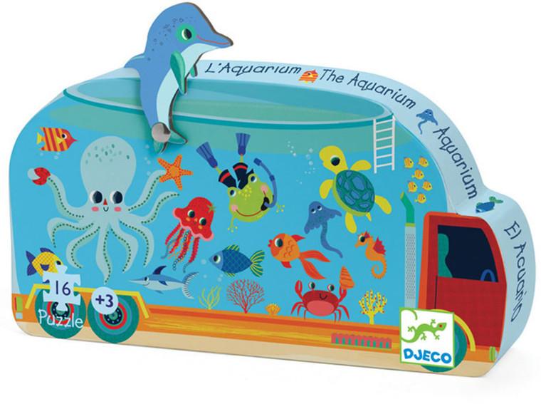 16-Piece Aquarium Puzzle