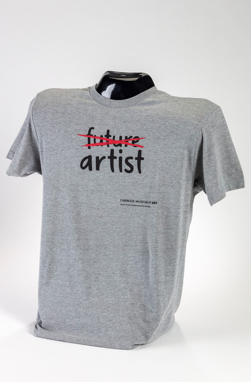 Future Artist - Adult Sizes in Grey T-Shirt