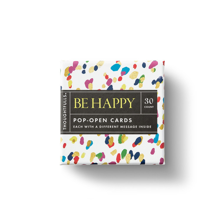 """Be Happy """"Thoughtfulls"""" Cards"""