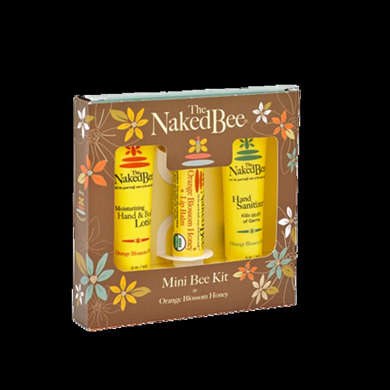 Mini kit 1 each  .5 oz. Orange Blossom Honey lotion, .5 oz. Orange Blossom Honey hand sanitizer & Orange Blossom Honey lip balm.