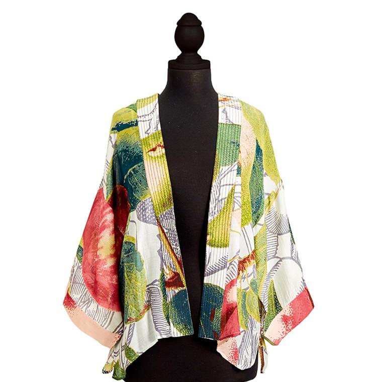 Apple and Pear Kimono in Short