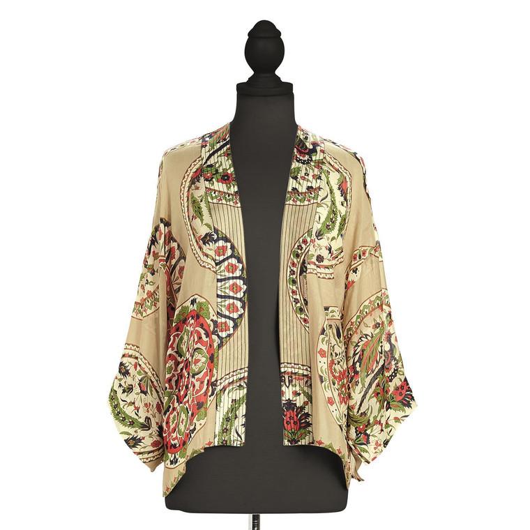 China Plate Kimono Short