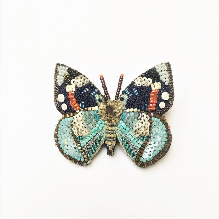 Emperor Butterfly Brooch
