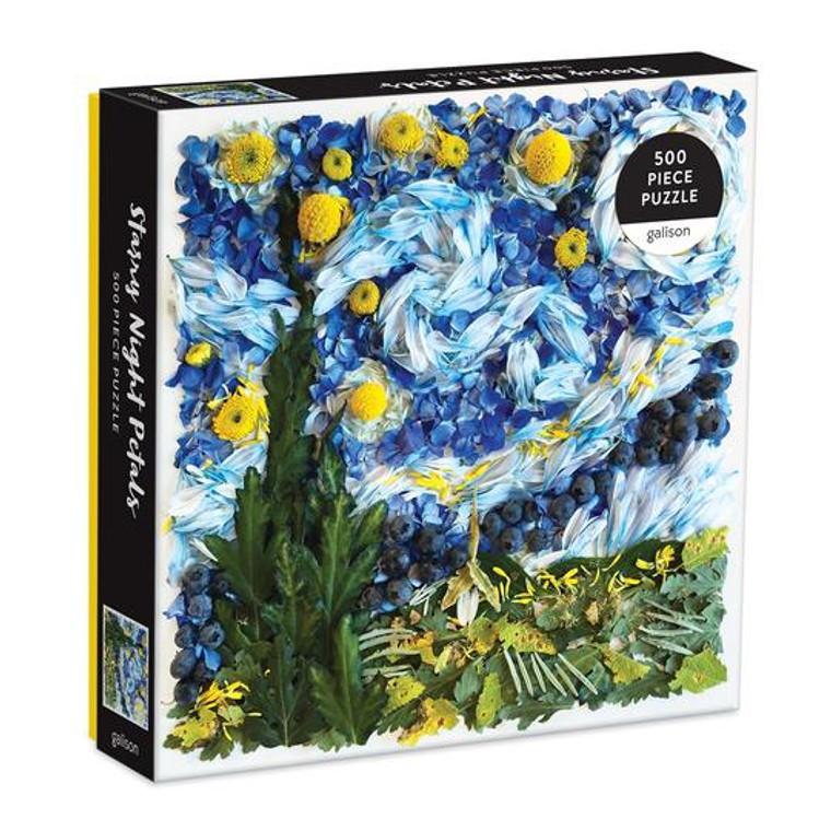 Starry Night Petals 500 Piece Puzzle