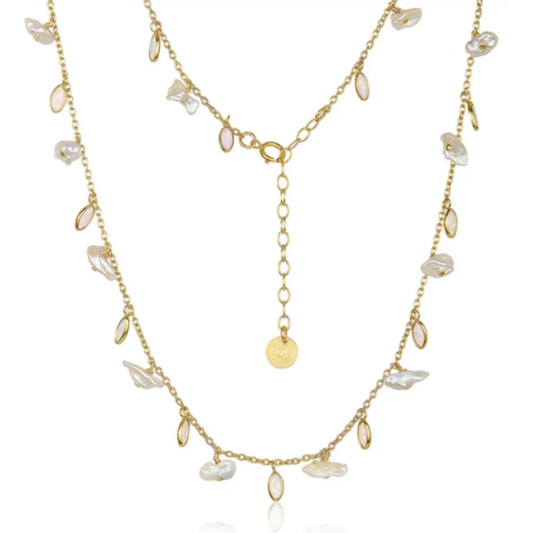 Rio Full Necklace Gold-Filled