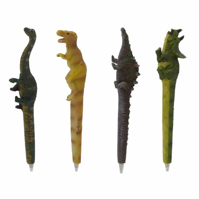 Prehistoric Dinosaur Pens , material Polyresin