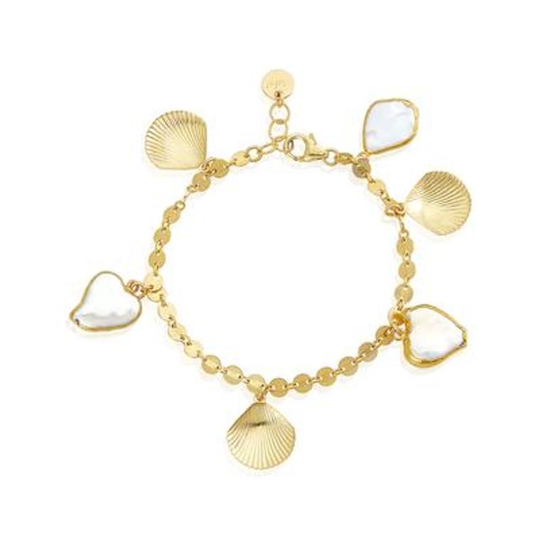 Aphrodite Charm Bracelet