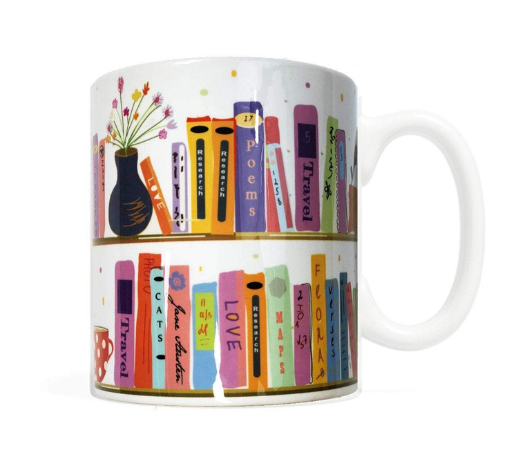 My Bookshelf Mug