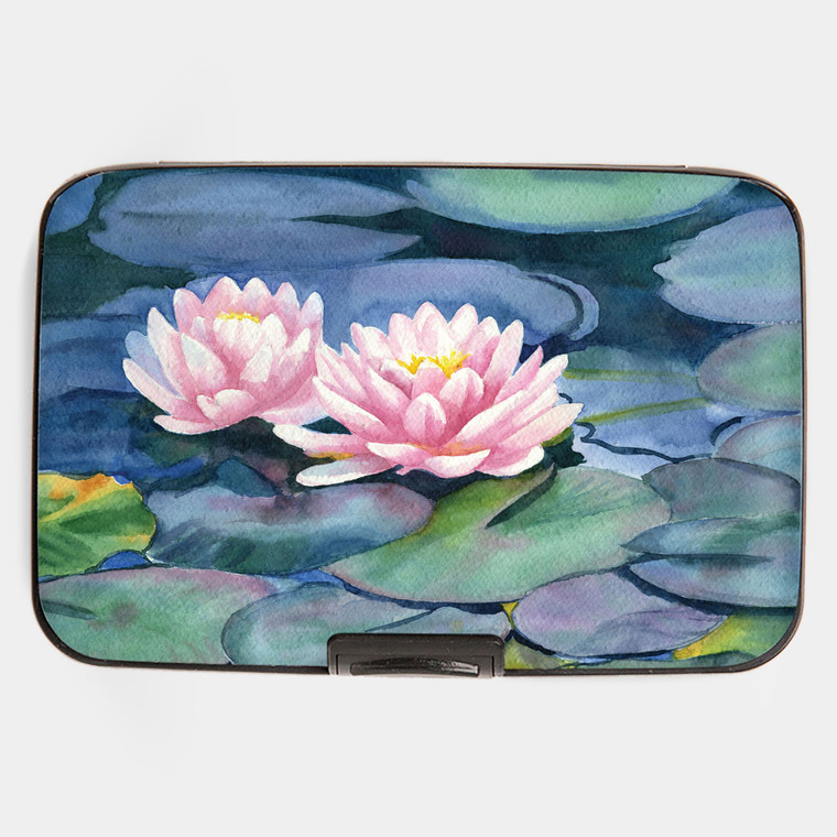 Waterlilies Armored Wallet