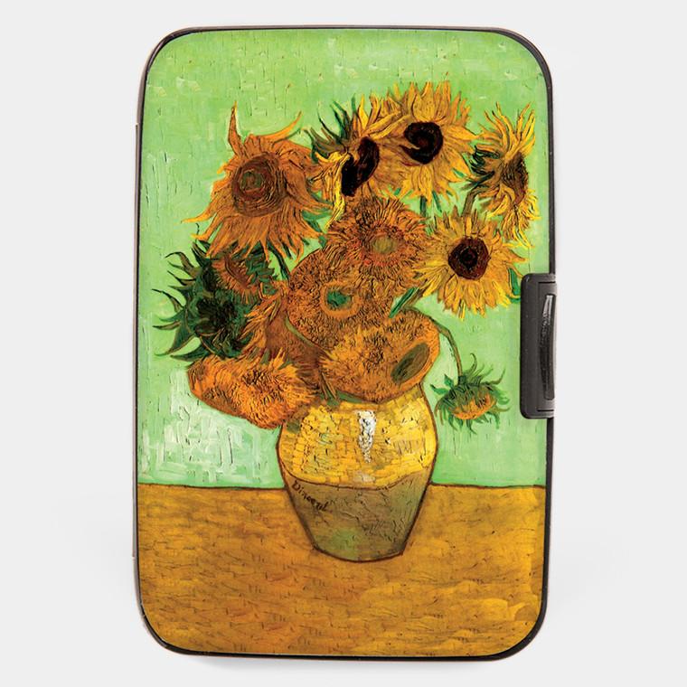 Van Gogh Sunflowers Armored Wallet
