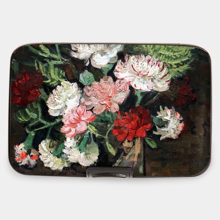 Van Gogh Carnations Armored Wallet