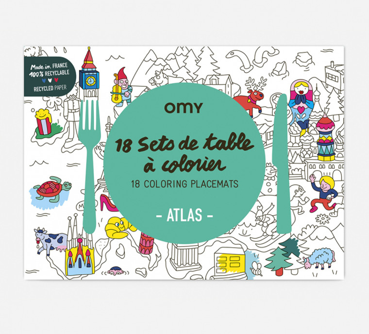 Coloring Placemats