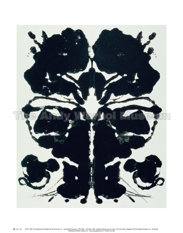 image of a Rorschach in black ink on white background