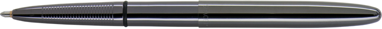 This image is of a Titanium Bullet  Space pen which open to its full size.