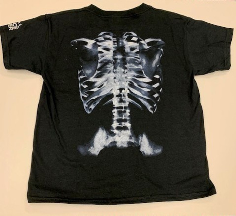 Skeleton Tee Shirt Youth