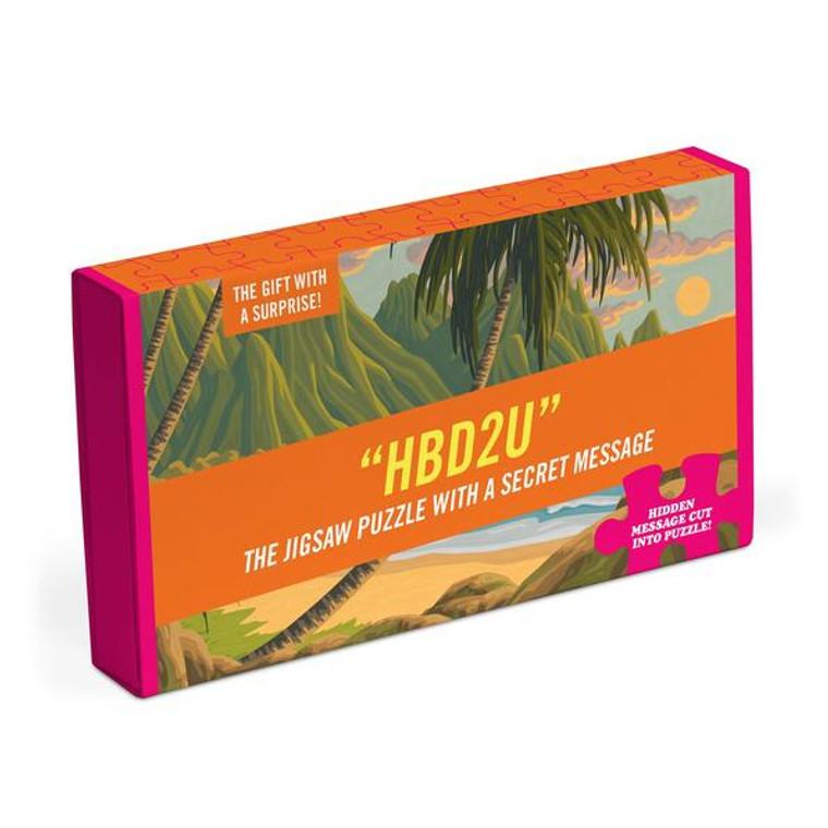 HBD2U Message Puzzle