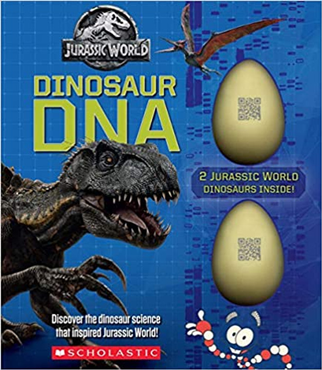 A thrilling nonfiction companion to the Jurassic World film franchise! Includes a full-length nonfiction book illustrated with film stills and two eggs to crack open with collectible dinosaur babies!
