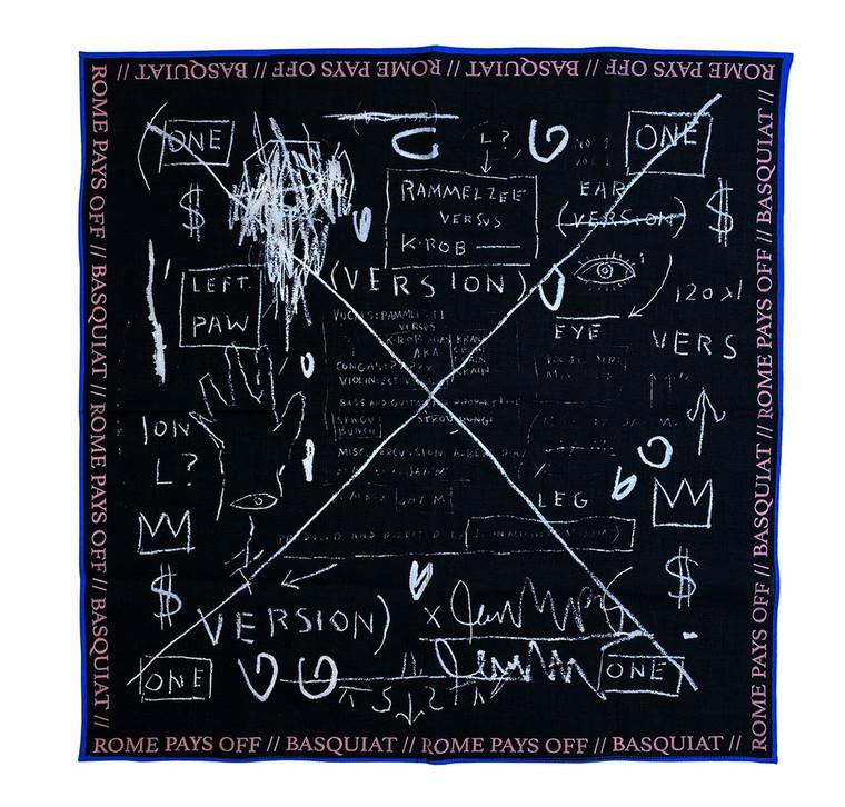 Basquiat Beat Bop Bandana