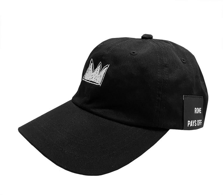 Basquiat White Crown Cap