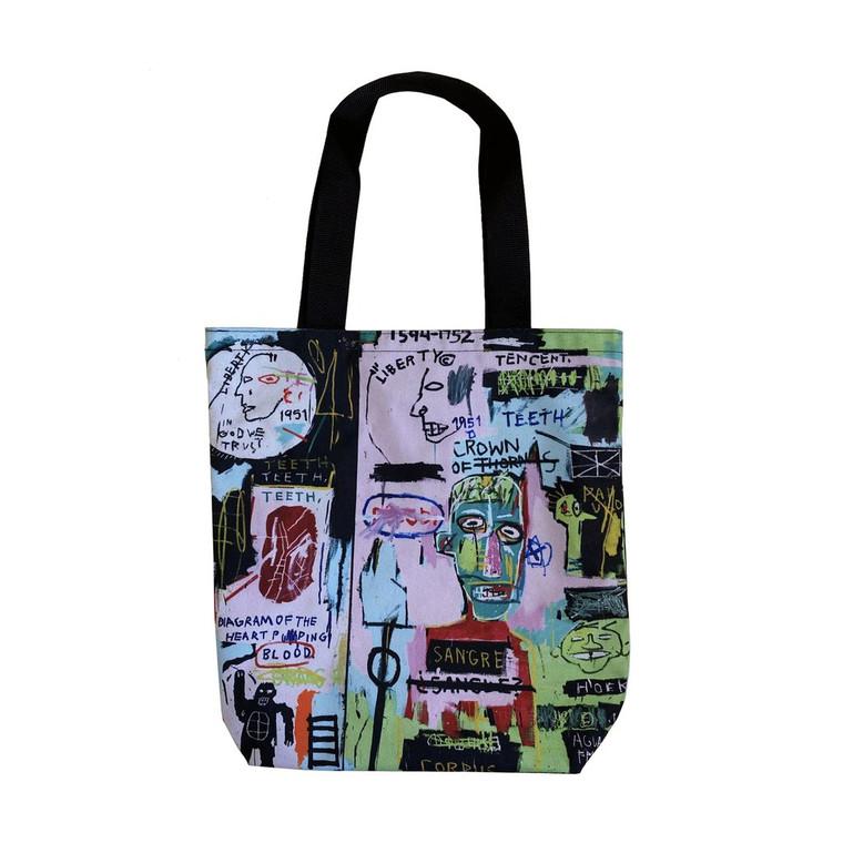 Basquiat In Italian Tote