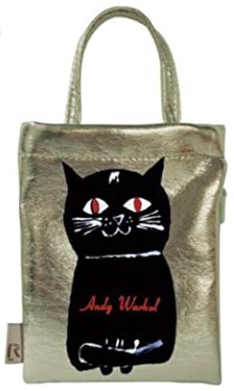 Warhol Cat Tiny Tote