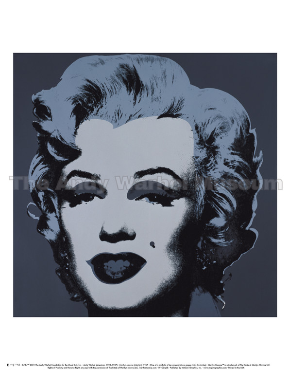 image of a woman's face in black screenprint.