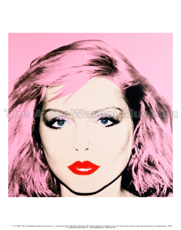 image of a female with pink hair on a pink background.
