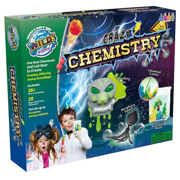 This image shows a multicolored box with various experiments shown on the cover.
