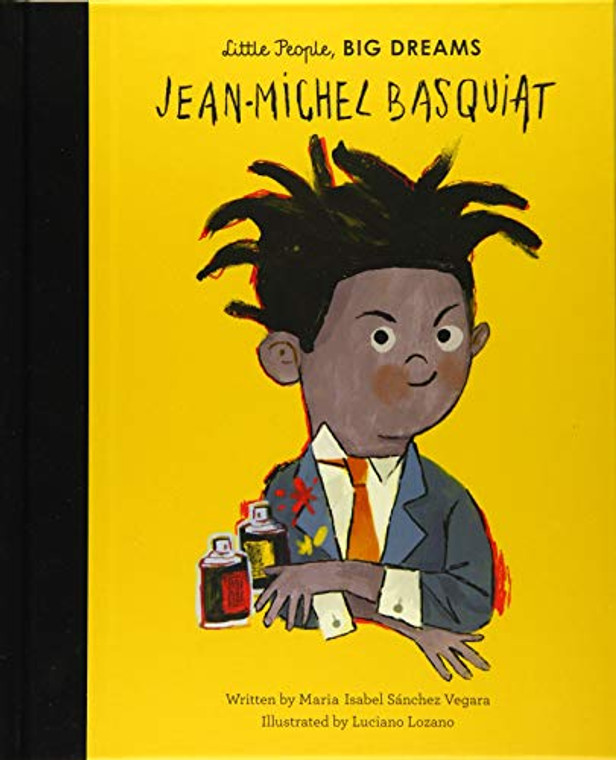Basquiat Little People, Big Dreams