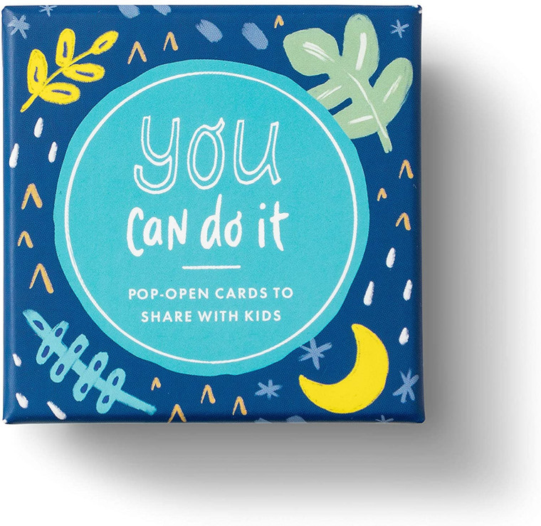 You Can Do It — 30 Pop-Open Cards, Each with a Different Inspiring Message Inside