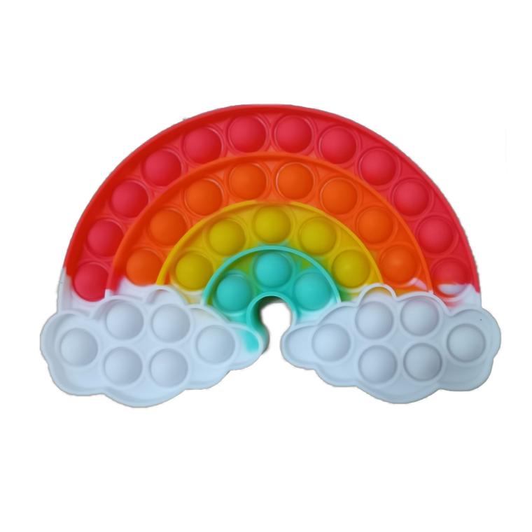 Poptastic Poppers: Glow in the Dark Rainbow