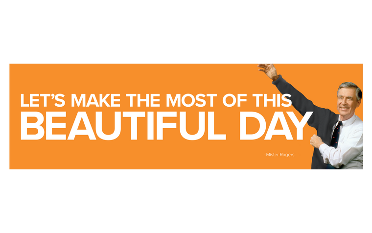 Beautiful Day Bumper Sticker