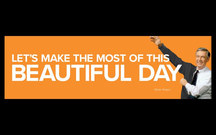 Beautiful Day Bumper Sticker