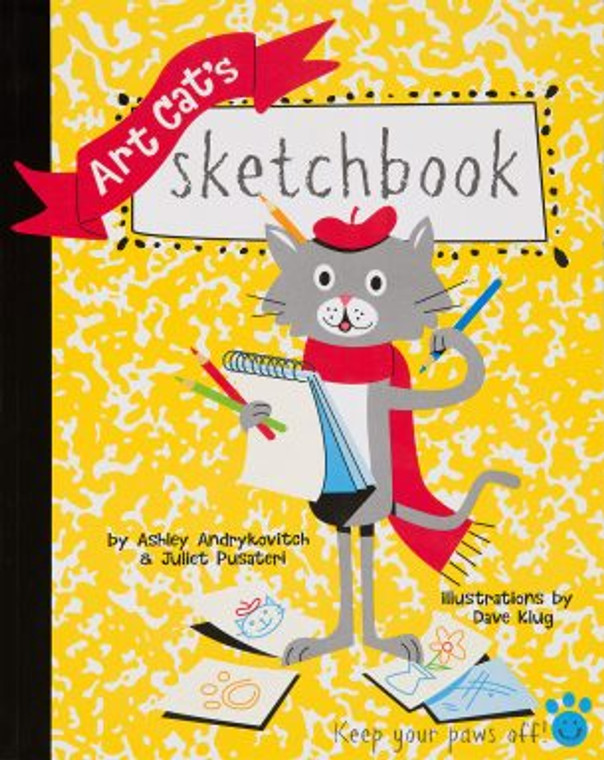 Assemble an art collection of your own by drawing paintings and sculptures in the museum's collection with the help our Art Cat mascot through this CMOA-inspired sketchbook.