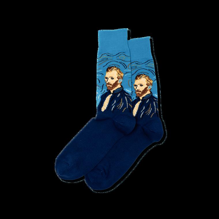 Men's Van Gogh Self Portrait Socks