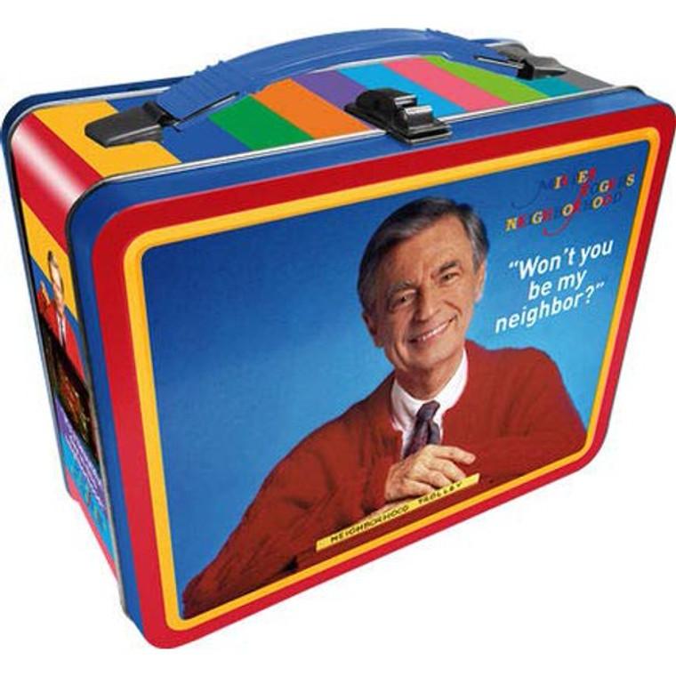 "Mister Rogers' Neighborhood ""Won't You Be My Neighbor"" Tin Box"