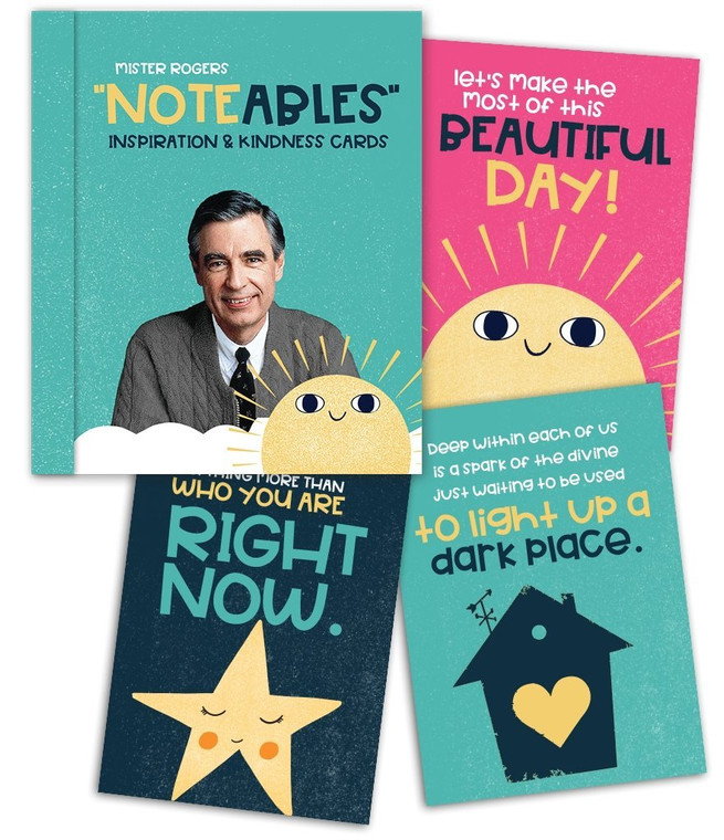 Mister Rogers' Noteables Inspiration and Kindness Cards