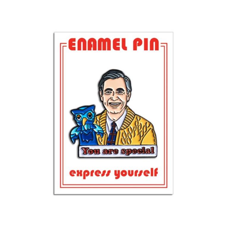 Mister Rogers Enamel Pin