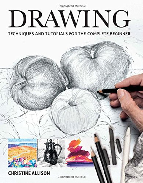 Paperback activity book with sketching prompts, 128 pages