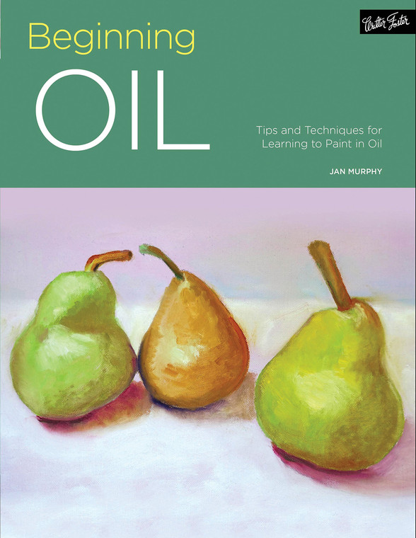Paperback instructional book of oil painting techniques. 128 pages
