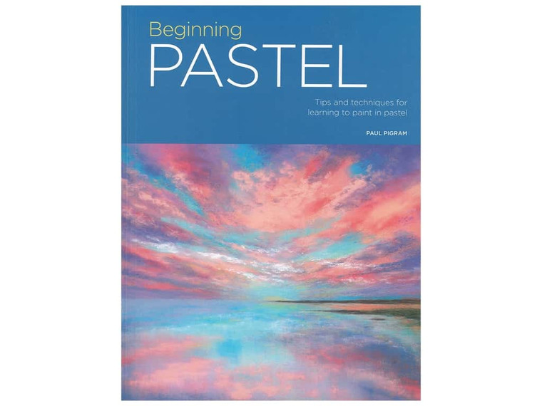 Paperback instructional book of pastel drawing techniques. 128 pages