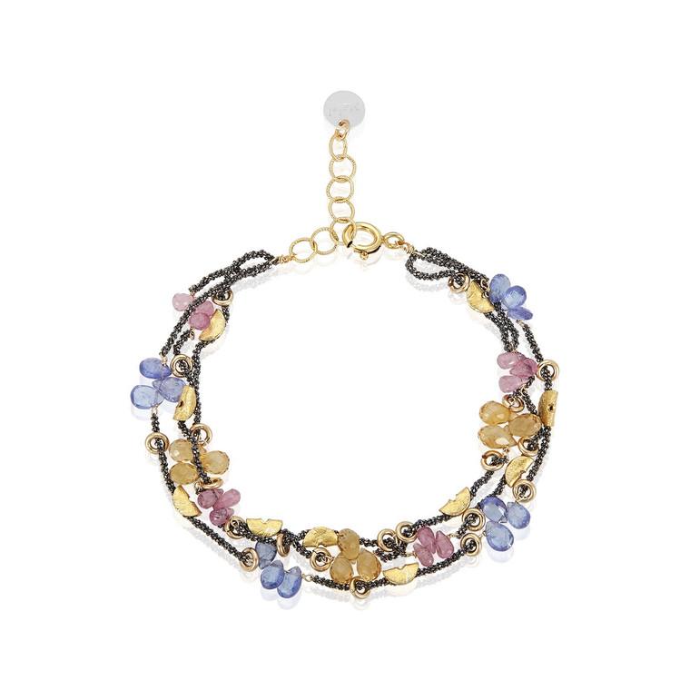 Half Moon Petal Bracelet