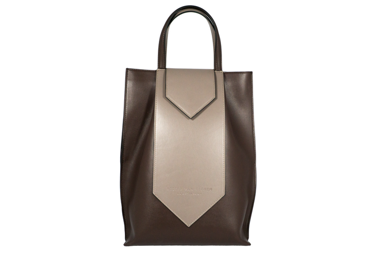 Cravate Brown/Dark Taupe Tote