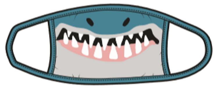 Shark Kids Mask