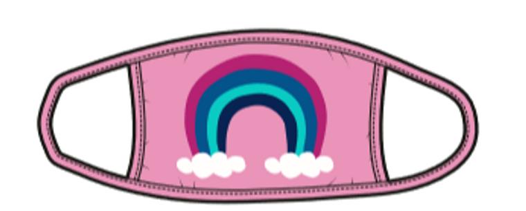 Rainbow Kids Mask