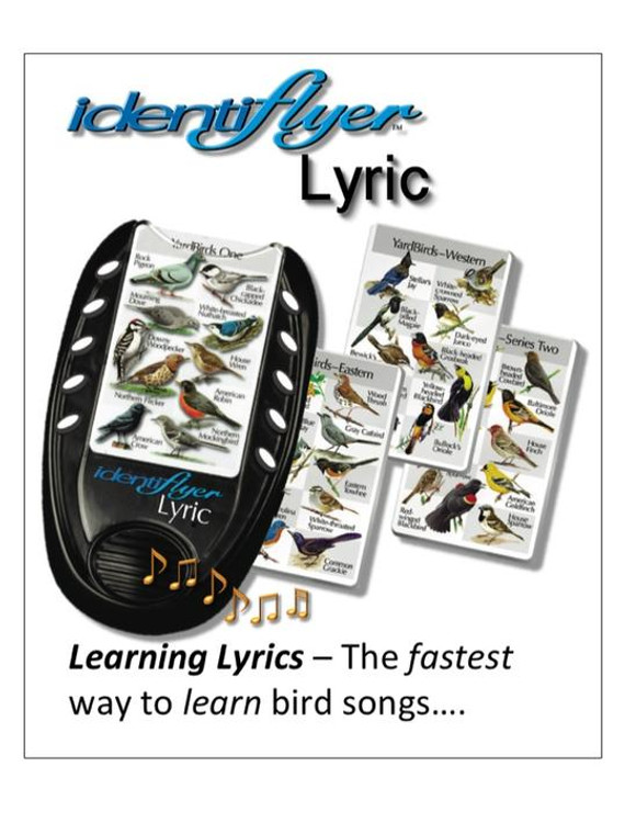 device to listen to identify birds by sound and or sight.