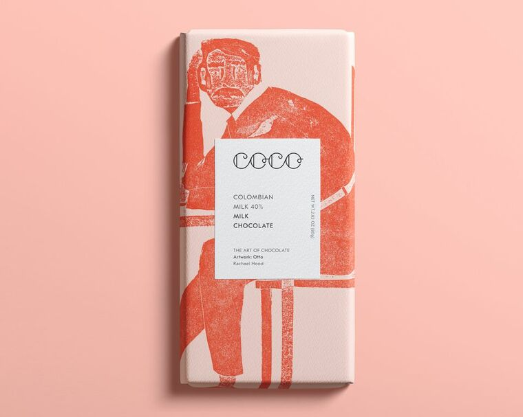 Colombian Milk Chocolate Bar