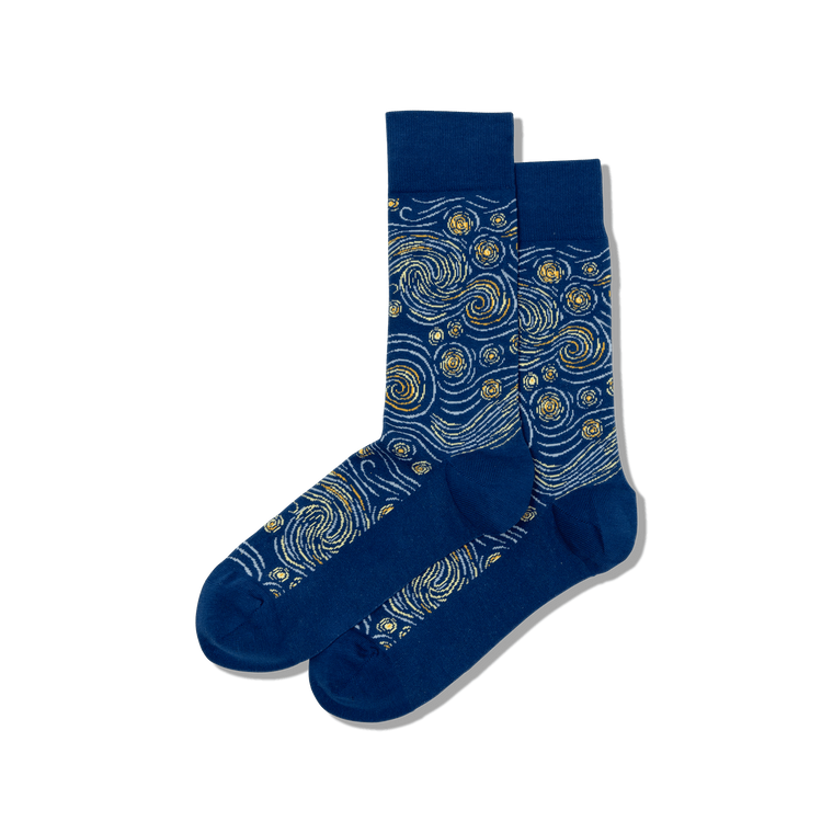 "Sock with image of the print ""Mt. Fuji Over a Lake"""