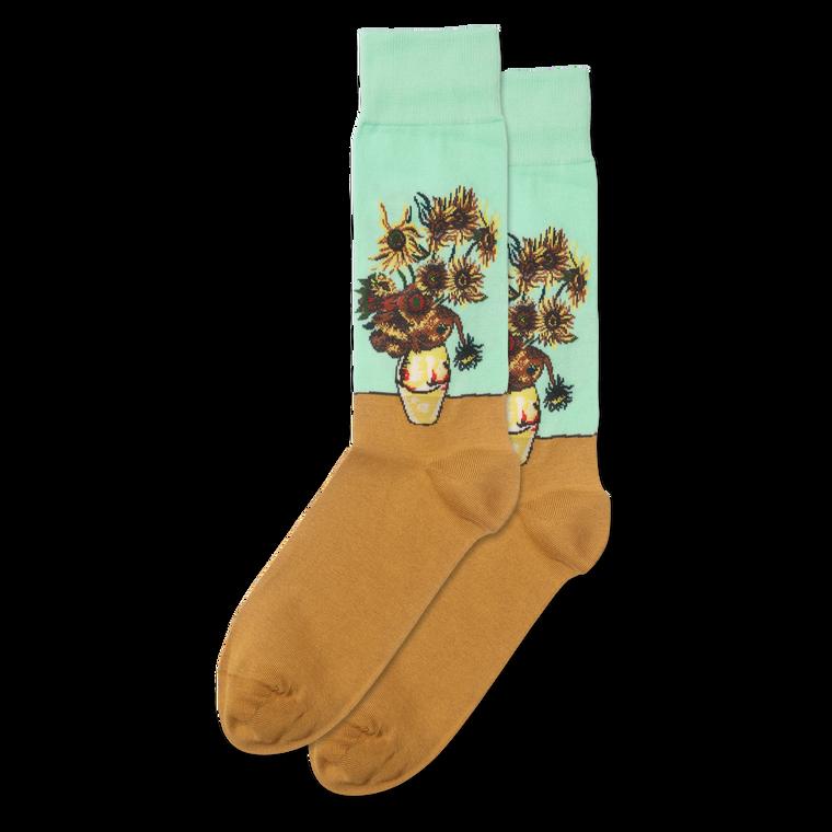 Women's Van Gogh's Sunflower Socks
